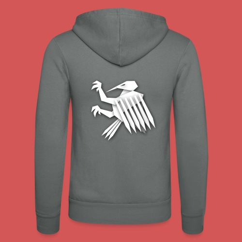Nörthstat Group ™ White Alaeagle - Unisex Hooded Jacket by Bella + Canvas