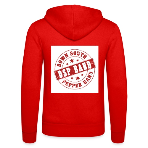 DSP band logo - Unisex Hooded Jacket by Bella + Canvas