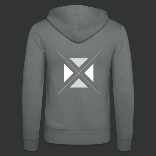triangles-png - Unisex Hooded Jacket by Bella + Canvas