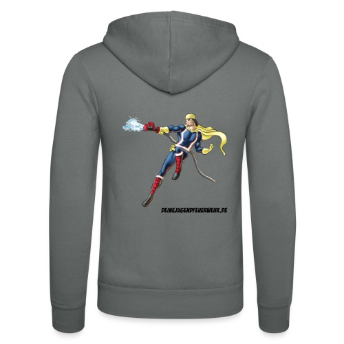 Captain Firefighter - Unisex Kapuzenjacke von Bella + Canvas