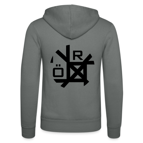 Nörthstat Group™ TecH | iCon - WHT.Knapsack - Unisex Hooded Jacket by Bella + Canvas
