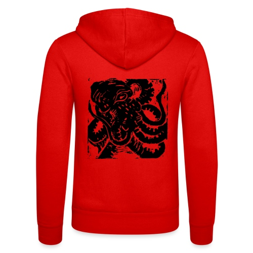 Museum Collection Octopus - Unisex Hooded Jacket by Bella + Canvas