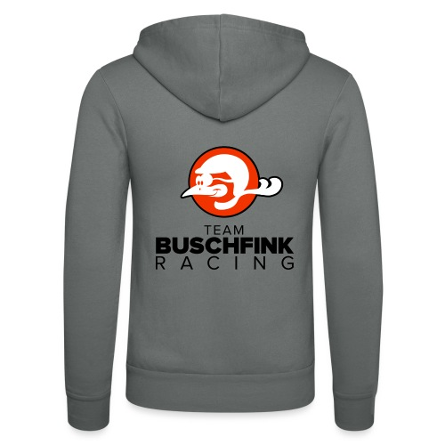 Team logo Buschfink - Unisex Hooded Jacket by Bella + Canvas