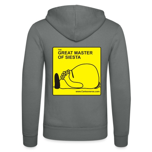 Great Master of Siesta - Unisex Hooded Jacket by Bella + Canvas