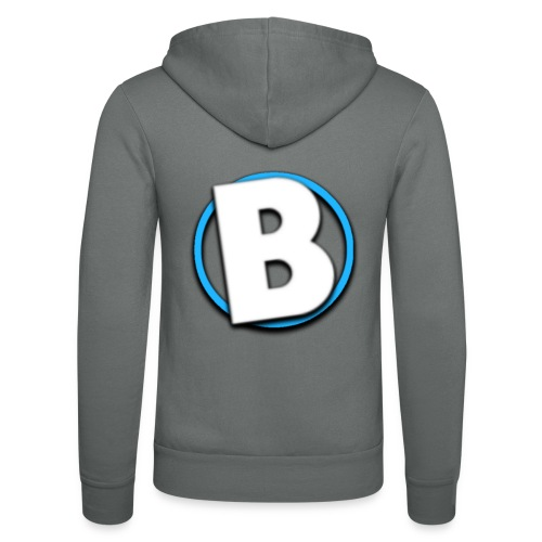 Bumble Logo - Unisex Hooded Jacket by Bella + Canvas
