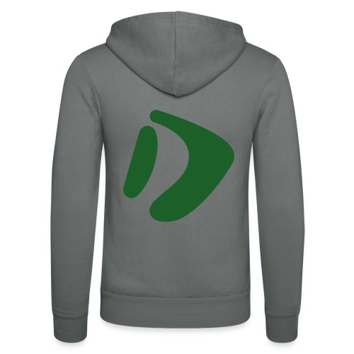 Logo D Green DomesSport - Unisex Kapuzenjacke von Bella + Canvas