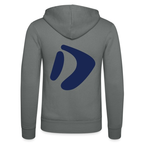 Logo D Blue DomesSport - Unisex Kapuzenjacke von Bella + Canvas