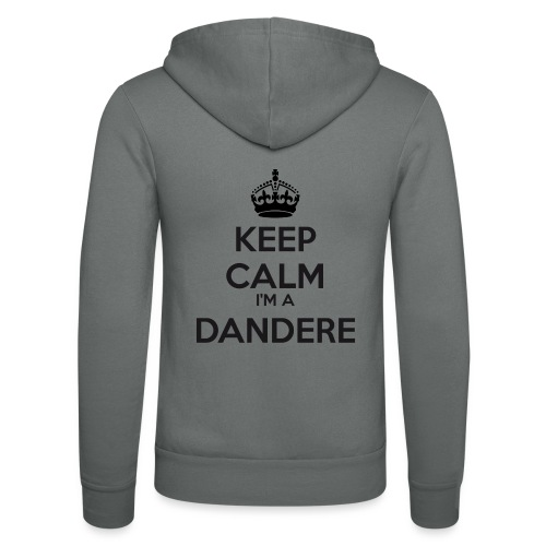 Dandere keep calm - Unisex Hooded Jacket by Bella + Canvas