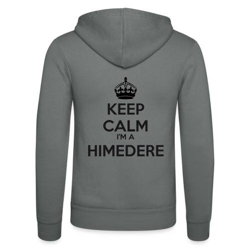 Himedere keep calm - Unisex Hooded Jacket by Bella + Canvas