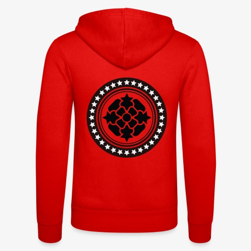 Tribal 1 - Unisex Hooded Jacket by Bella + Canvas