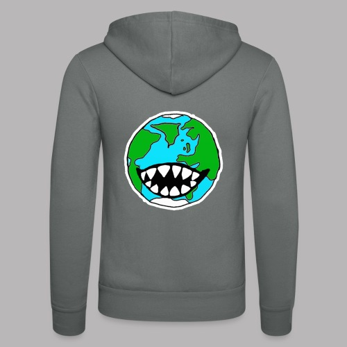 Hungry Planet - Unisex Hooded Jacket by Bella + Canvas