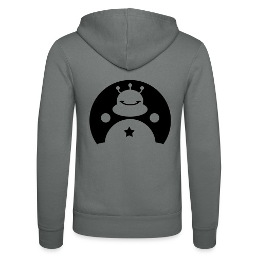 TOTALLY DARE alien - Unisex Hooded Jacket by Bella + Canvas