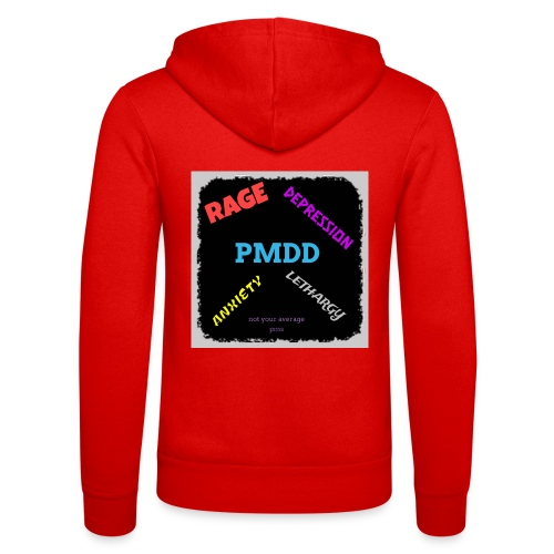 Pmdd symptoms - Unisex Hooded Jacket by Bella + Canvas