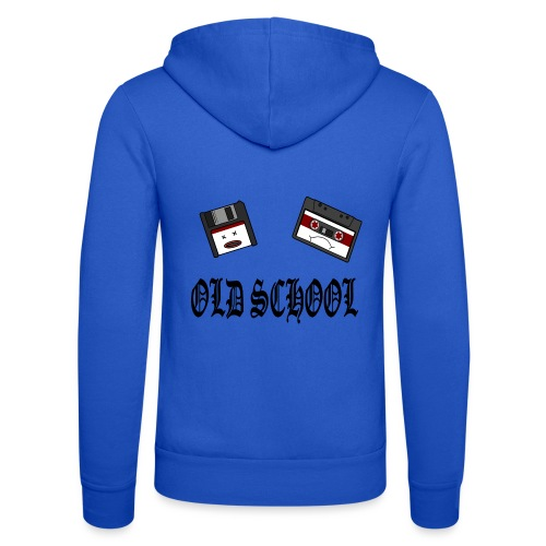 Old School Design - Unisex Kapuzenjacke von Bella + Canvas