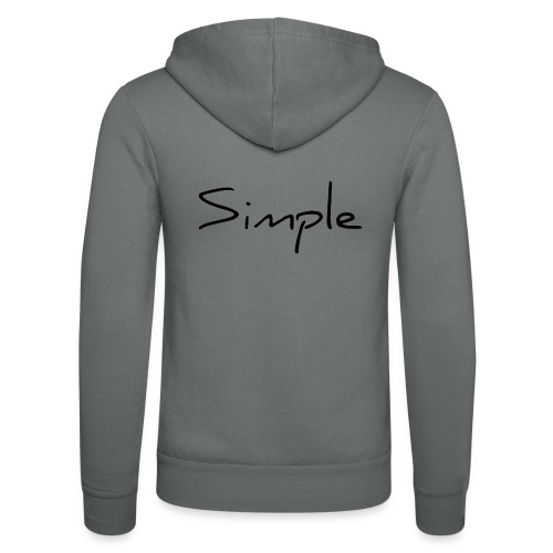 Tout simple - Veste à capuche unisexe Bella + Canvas