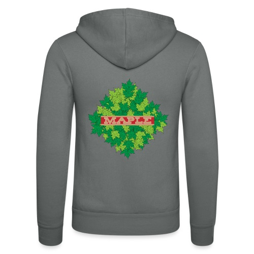maple - Unisex Kapuzenjacke von Bella + Canvas