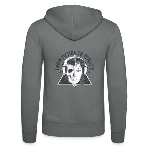 ''From Fiction To Reality'' Merchandise - Unisex hoodie van Bella + Canvas