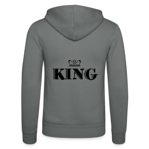 King - Unisex Kapuzenjacke von Bella + Canvas