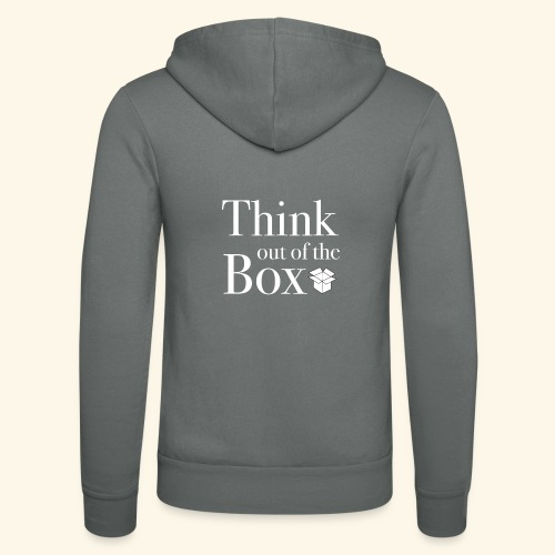 Designed MIndset Thinking Out Of The Box - Felpa con cappuccio di Bella + Canvas