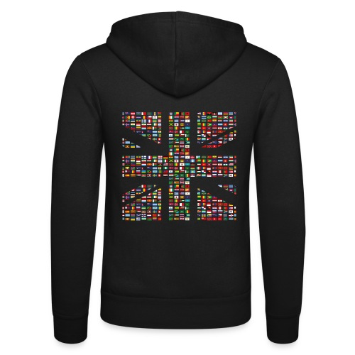 The Union Hack - Unisex Hooded Jacket by Bella + Canvas