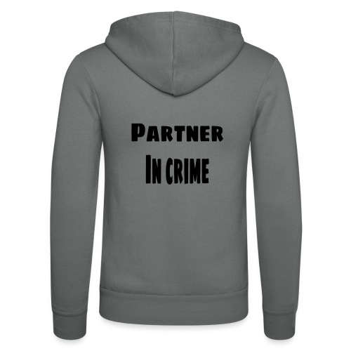 Partner in crime black - Luvjacka unisex från Bella + Canvas