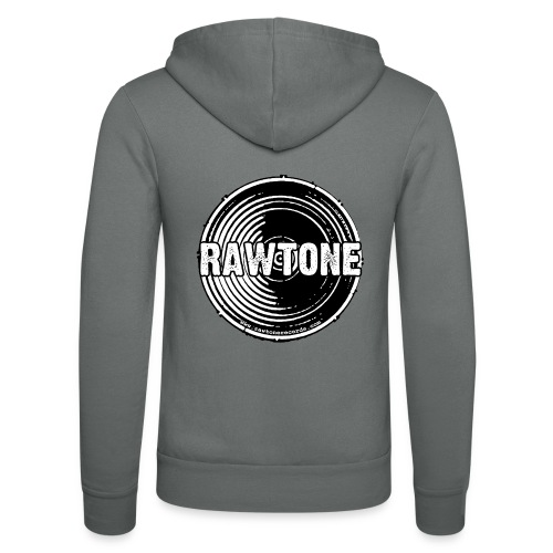Rawtone Records logo - Unisex Hooded Jacket by Bella + Canvas