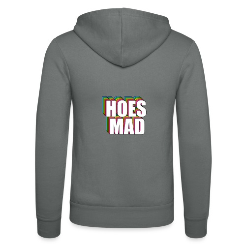 Hoes Mad Meme - Unisex Hooded Jacket by Bella + Canvas