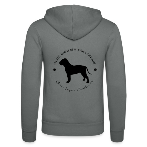 Olde english bulldogge - Unisex Bella + Canvas -hupputakki