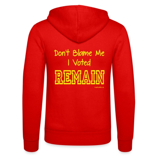Dont Blame Me - Unisex Hooded Jacket by Bella + Canvas