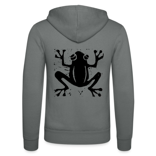 Crafty Wotnots Tree Frog - Unisex Hooded Jacket by Bella + Canvas