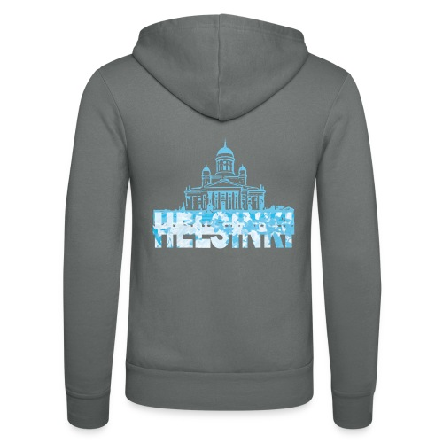 Helsinki Cathedral - Unisex Hooded Jacket by Bella + Canvas