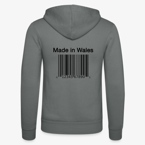 Made in Wales - Unisex Hooded Jacket by Bella + Canvas
