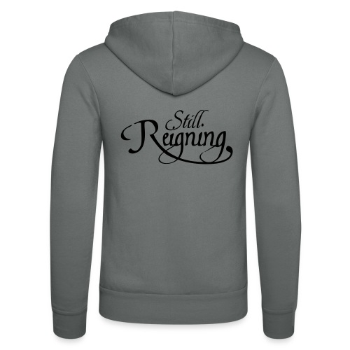 still reigning black - Unisex Hooded Jacket by Bella + Canvas