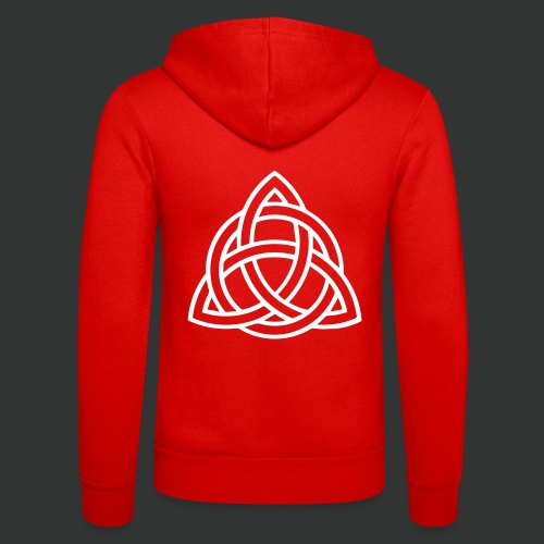 Celtic Knot — Celtic Circle - Unisex Hooded Jacket by Bella + Canvas
