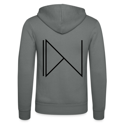 Icon on sleeve - Unisex hoodie van Bella + Canvas