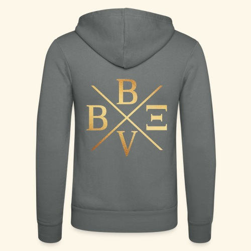 BVBE Gold X Factor - Unisex Hooded Jacket by Bella + Canvas