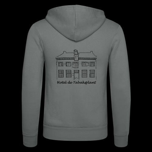 Hotel de Tabaksplant (black) - Unisex Hooded Jacket by Bella + Canvas