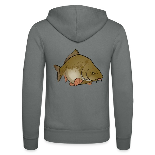 Red River: Carp - Unisex Hooded Jacket by Bella + Canvas
