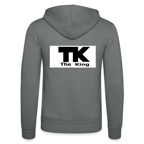 The King med ram - Luvjacka unisex från Bella + Canvas