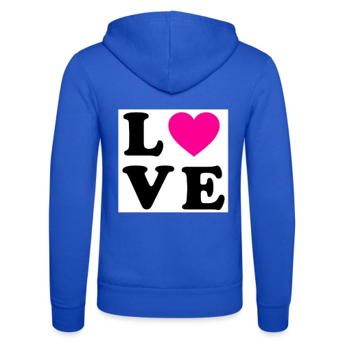 Love t-shirt - Veste à capuche unisexe Bella + Canvas