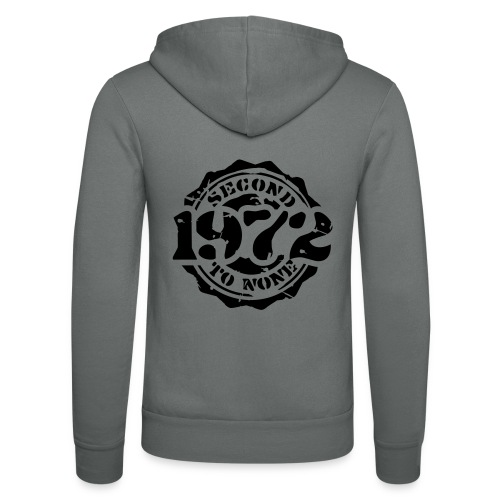 1972 Second to None - Unisex Kapuzenjacke von Bella + Canvas