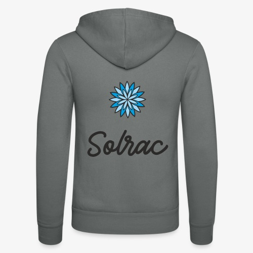 SOLRAC Writing - Nuestra chaqueta con capucha de Bella + Canvas