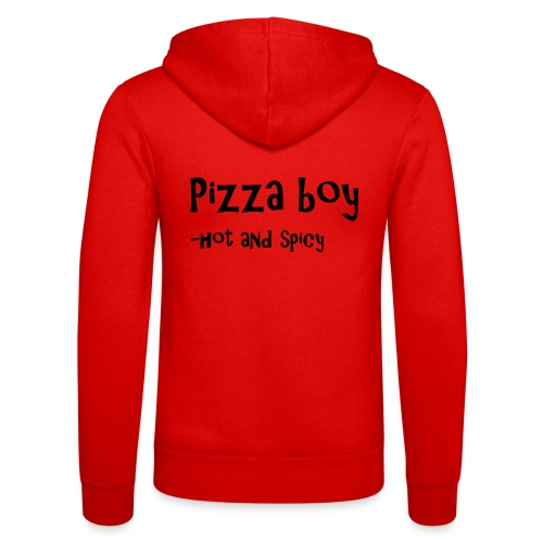 Pizza boy - Unisex-hettejakke fra Bella + Canvas