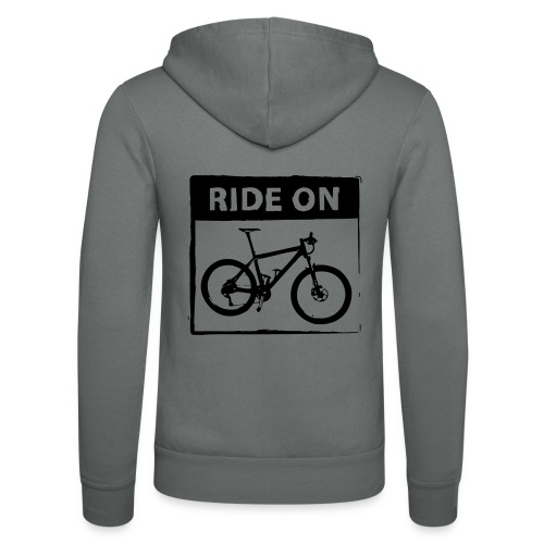 Ride On MTB 1 Color - Unisex Kapuzenjacke von Bella + Canvas