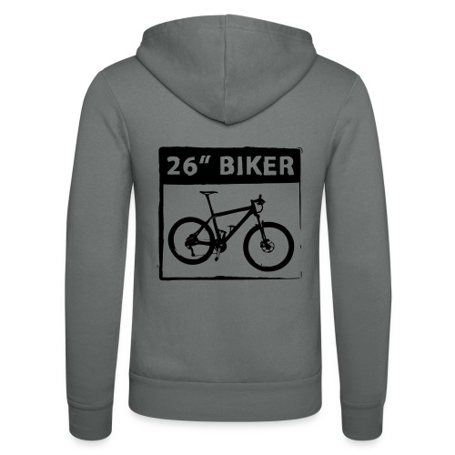 26 Biker - 1 Color - Unisex Kapuzenjacke von Bella + Canvas