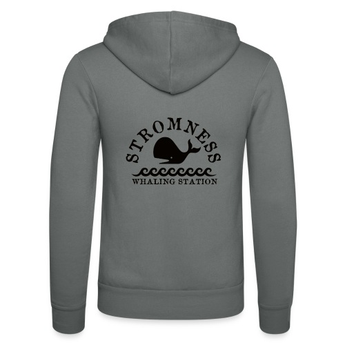 Sromness Whaling Station - Unisex Hooded Jacket by Bella + Canvas