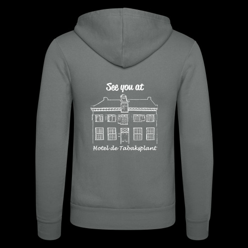 See you at Hotel de Tabaksplant WIT - Unisex hoodie van Bella + Canvas