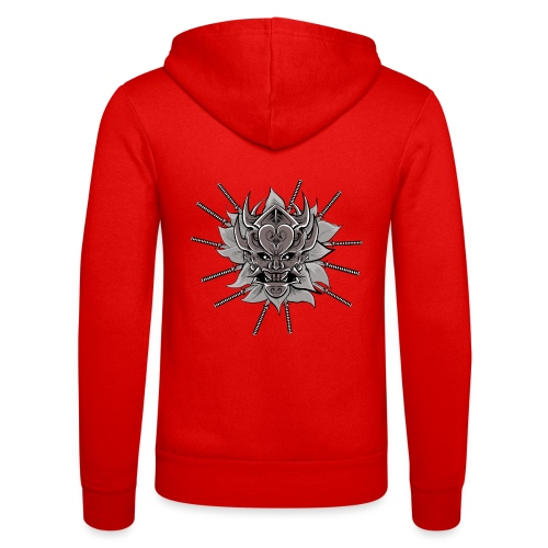 Lotus Of The Samurai - Unisex hoodie van Bella + Canvas