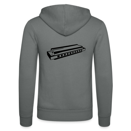 Harmonica - Unisex Hooded Jacket by Bella + Canvas