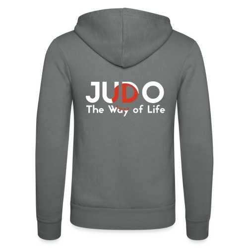 judo the way of life - Bluza z kapturem Bella + Canvas typu unisex